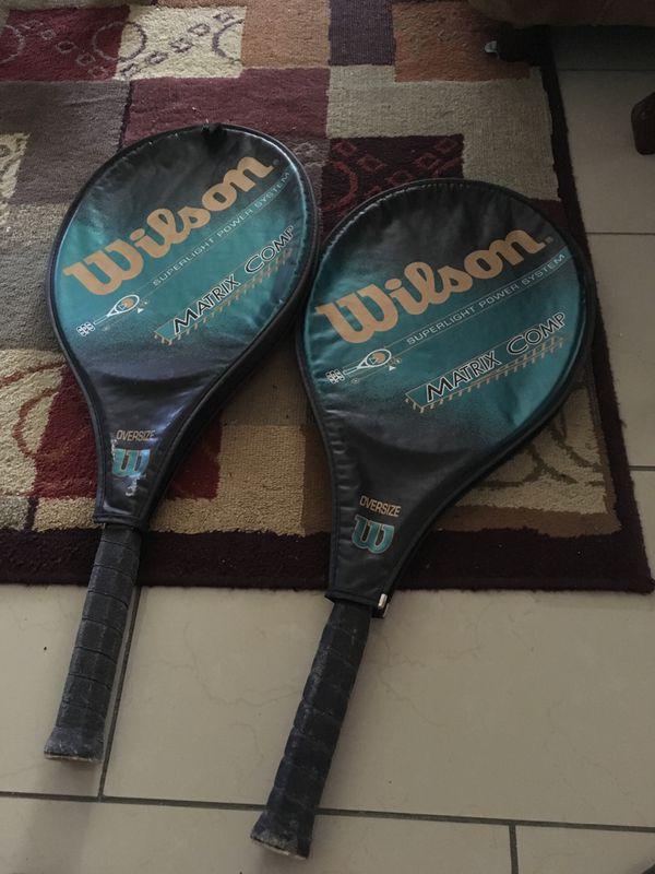 Wilson rackets