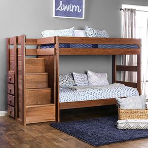 Twin bunk bed with drawer storage for Sale in Ellicott City, MD