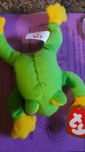 Teenie beanie babies smoochy the frog for Sale in Shingle Springs, CA