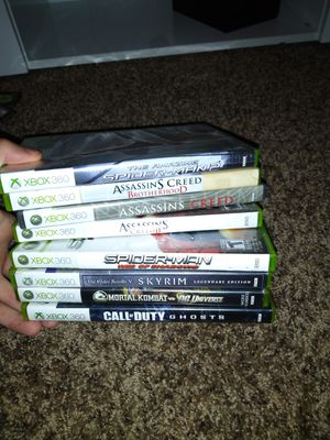 Xbox 360 Game lot for Sale in Greenville, SC