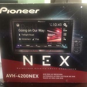 Pioneer AVH-4200 NEX for Sale in St. Petersburg, FL