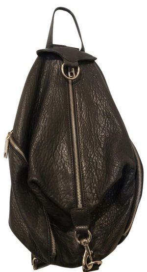 Rebecca Minkoff Julian Backpack (Black Pebbled Leather) for Sale in Baltimore, MD