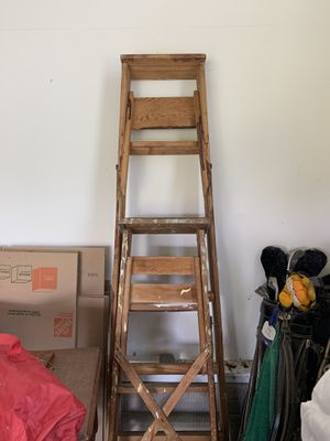 Wooden ladders for Sale in Monkton, MD