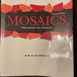 """Mosaics """"Focusing On Essays"""" (4th Edition) for Sale in San Fernando,  CA"""