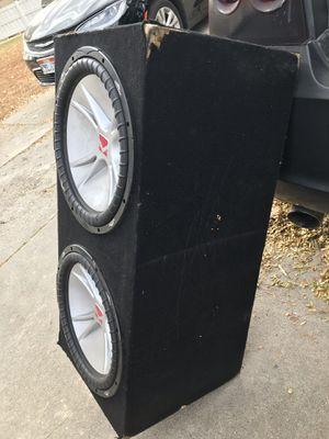 15in kicker subs and amplifier for Sale in West Jordan, UT