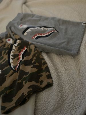bape shorts (half camouflage half gray ) for Sale in Henderson, NV