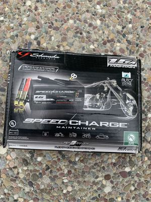 Battery charger for motorcycle for Sale in San Jose, CA
