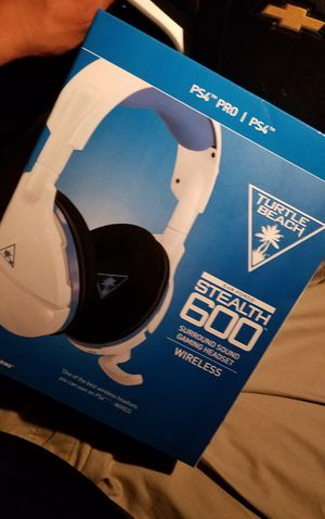 Turtle beach Stealth 600 wireless gaming headset for Sale in Dinuba, CA