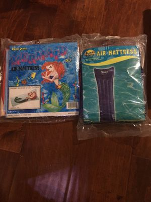 """2 of swim air mattress , 60"""" mermaid,72"""" surf club new sealed for Sale in City of Industry, CA"""