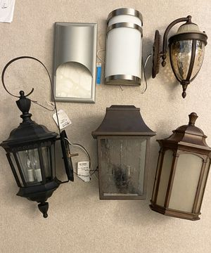 New outdoor porch house light fixtures lighting for Sale in Mason, OH