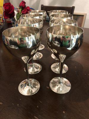 """Leonard Wine Goblets 7 1/2"""" for Sale in Las Vegas, NV"""