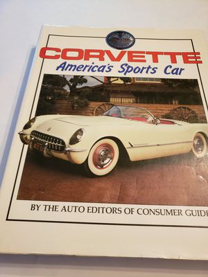 Corvette America's sport cars book. Writing on first page for Sale in Plainville, CT