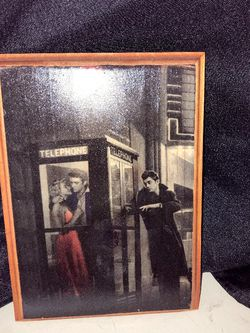 Small Picture Of Marilyn And James Dean On Wooden Plaque for Sale in Mesa,  AZ