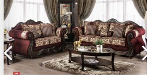 I Furniture sofa and love El Rio furniture finance available down payment $39 1456 belt line rd suite 121 Garland tx 75044 Open from 9:30-8:30 for Sale in Richardson, TX