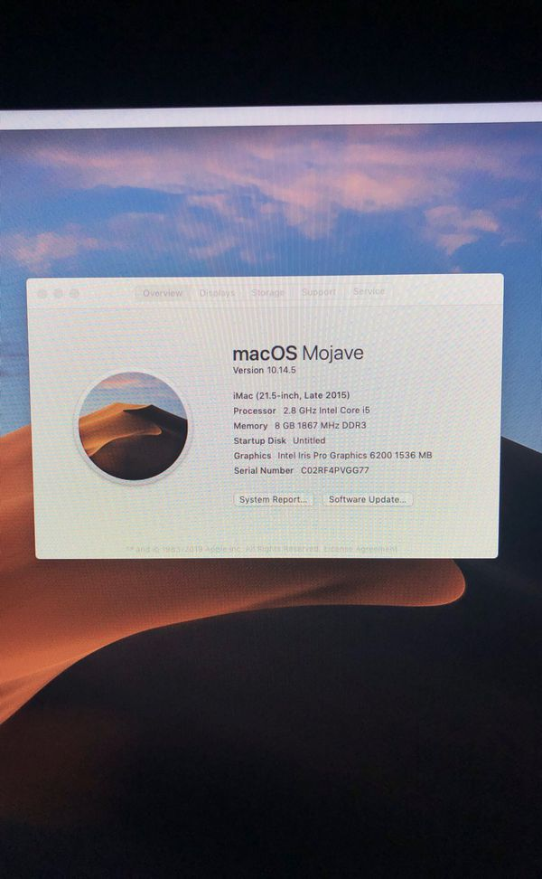 Apple iMac late 2015