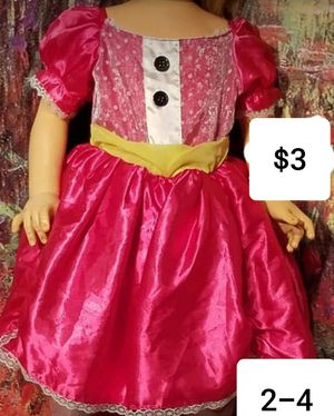 Lalaloopsy Sz. 2-4 dance fancy pageant dress up ballet princess Halloween for Sale in Dale, TX