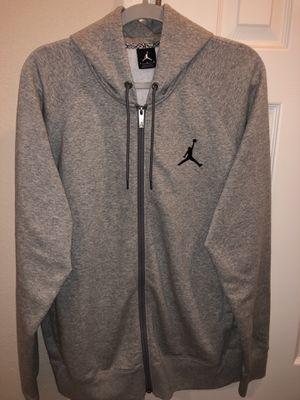 Men's Air Jordan zipper up jacket for Sale in Tampa, FL