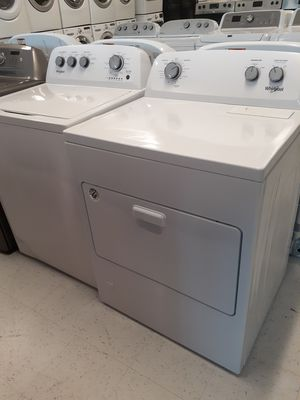 Whirlpool top load washer and gas dryer set new with 6 months warranty for Sale in Mount Rainier, MD