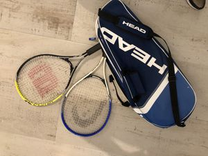 Tennis set Wilson and head rackets for Sale in Miami, FL