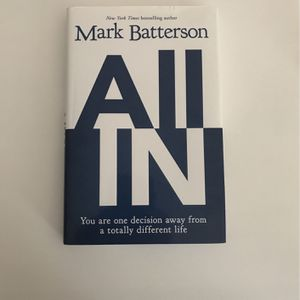 All In, By Mark Batterson for Sale in Upper Marlboro, MD