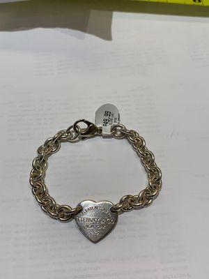 Tiffany & Co Heart Silver Bracelet for Sale in Tempe, AZ