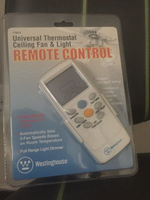 Universal Remote, celling fan & lights for Sale in Fort Washington, MD