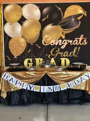 Congrats Grad Background for Sale in Dallas, TX