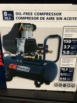 Campbell Hausfield 8Gal Oil-Free Air Compressor for Sale in Harrisburg,  PA