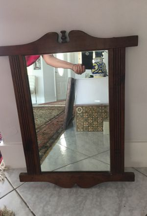 Antique mirror 19 by 24 for Sale in Miami Shores, FL