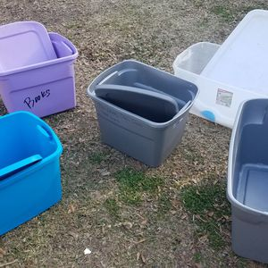 Storage tote for Sale in Houston, TX