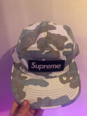 Supreme hat navy camo for Sale in San Diego, CA