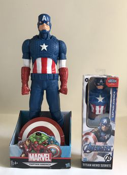 """Marvel Captain America Action Figure by Hasbro 20"""" for Sale in Beaverton,  OR"""