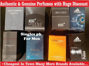 Authentic Branded Perfumes For Men (Prices Vary) for Sale in Clovis, CA