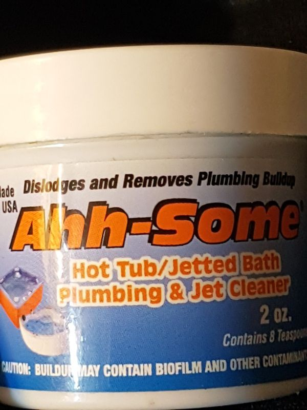 Ahh-Some- Hot Tub Cleaner