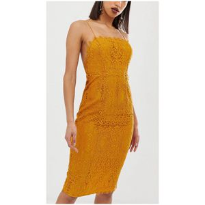 ASOS DESIGN square neck lace midi dress for Sale in Atlanta, GA
