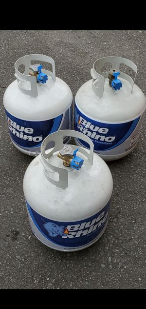 Full Blue Rhino propane tanks with factory seal & 80 more items posted here for Sale in Kirkland, WA