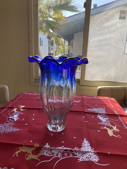 Crystal Vase for Sale in Hermosa Beach,  CA