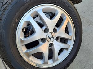 Honda OEM 16 in rims with tires for Sale in Riverside, CA