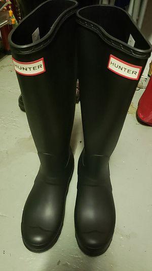 Hunter Black Rain Boots for Sale in Pompano Beach, FL