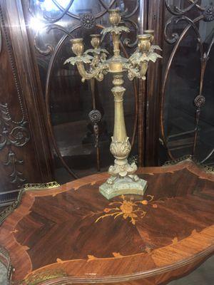Solid brass candelabra for Sale in Whittier, CA