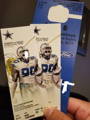 Cowboys vs Eagles ! for Sale in Dallas, TX