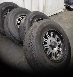 XD wheels 255 x 75 x 17 w/TPS sensors for Sale in Plainville, CT