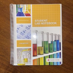 Student Lab Notebook - Chemistry for Sale in San Diego, CA