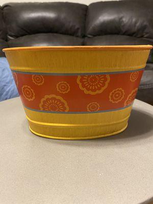 Decorative buckets/planters for Sale in Manassas, VA