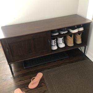media consul/ TV stand/ Shoe bench/ Shoe storage for Sale in Des Plaines, IL