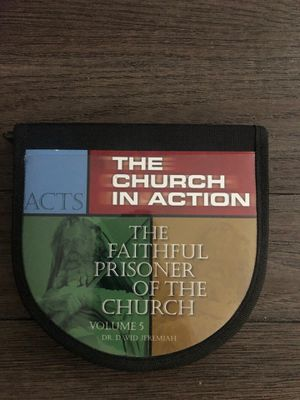 Dr David Jeremiah Acts: The Faithful Prisoner of the Church Vol 5 8 CD Sermons for Sale in Las Vegas, NV