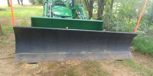 Clamp-on Snow Blade/Grader