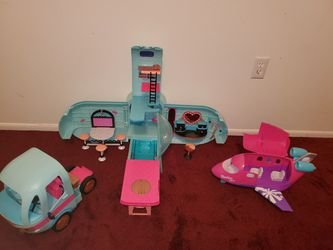 LOL Glamper and Shopkins plane for Sale in Fort Washington,  MD