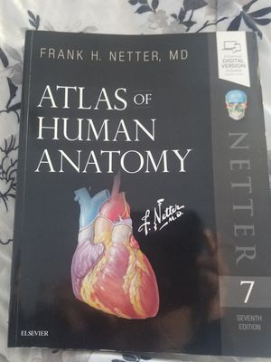 Atlas of Human Anatomy 7 th Edition Brand new for Sale in Norfolk, VA