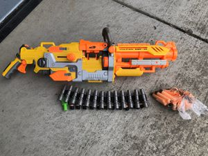 Nerf Fully Automatic Vulcan EBF-25 Dart Gun for Sale in Ceres, CA